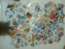 GB 100 grams KILOWARE abt 500 USED STAMPS ON PAPER PERIOD 20th C to 2018 r