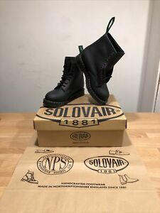 NPS SOLOVAIR Black 8 Eye Derby Boot With Fur!SizeUK5! New! Only