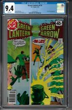 Green Lantern # 116 CGC 9.4 WP Guy Gardner app. newsstand copy