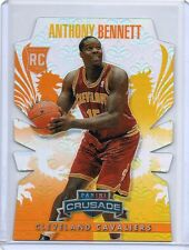 (T83) 2013-14 Anthony Bennett Panini Crusade #101 ORANGE DIECUT RC #D 91/99