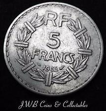 1935 France 5 Francs Coin - Ref ; T/M