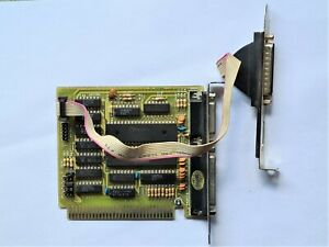 Vintage 8 bit I/O Serial Parallel controller card for XT computing W86C451
