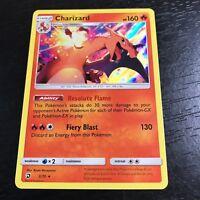 POKEMON: 1X CHARIZARD 3/70 - HOLO RARE CARD - SM DRAGON MAJESTY NM