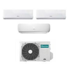 Condizionatore Hisense Mini Apple Pie e New Comfort Trial Split 9+9+12 Btu