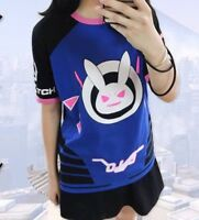Overwatch DVa T shirt Cosplay Unisex High Quality! UK Seller Fast delivery!