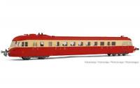 Jouef HJ2411 HO Gauge SNCF ABJ4 Red Roof Diesel Railcar