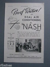 R&L Ex-Mag Advert: Nash Car with Air Conditioning, Gas Mask