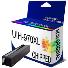 1 Black Generic Ink 970XL for use in hp Officejet Pro X551dw X576dw Printer