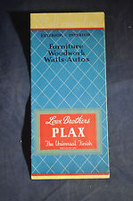 ~1939 Woodwork, Walls, Autos Love Brothers Plax Universal Finish - Paint
