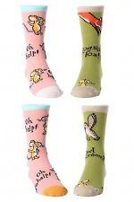 United Oddsocks Childrens Socks Gruffalo 4 Odd Mouse & Owl Fox Socks 4 - 6 Years
