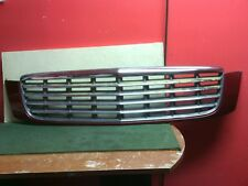 2000 - 2005 Cadillac Deville chrome grille with Red surround Used OEM  CRACKED
