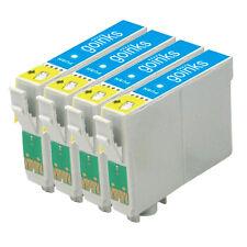 4 LIGHT CIANO CARTUCCE DI INCHIOSTRO PER EPSON STYLUS R220 R320 R340 RX300 RX500 RX620