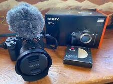 Sony a7RII w/ Zeiss FE 4/16-35 Lens, Mic & More!
