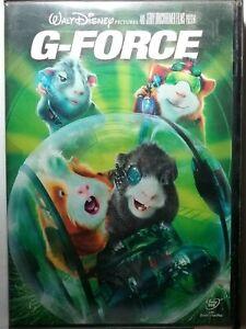 Walt Disney G-FORCE movie DVD 2009 Blockbuster Case Free Shipping