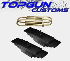 """1980-2004 Ford Super Duty F350 4x4 Front 3.5"""" Lift Leveling Steel Plates Kit"""