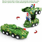 Electric Toys Transforming Armored Vehicle Car Music Sound With LED Light