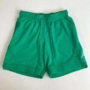 Nike Air Jordan Mens Medium Jumpman Diamond Shorts Pants Green New DC7576-372