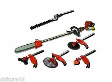 Multi brush cutter 6 in 1 pole saw 52cc hedge trimmer whipper snipper