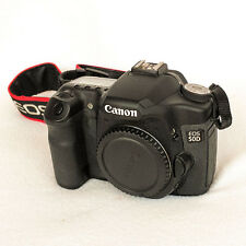 Perfekte Canon EOS 50D 15.1MP Digitale Spiegelreflexkamera (Body Only) nur 8000 Betätigungen