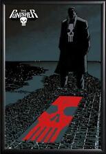 Marvel Comics Punisher Framed Poster in Premium Wood Molding 24x36