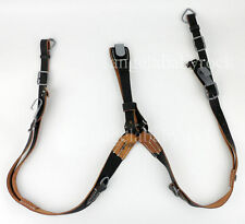 Men's Ww2 German Army Leather Y Strap Straps Y-straps Load Bearing Equipment