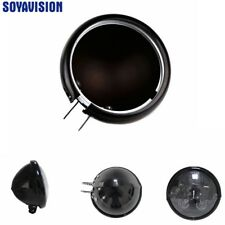 "5 3/4"" black round motorcycle 5.75 inch LED headlight housing Bucket for Harley"
