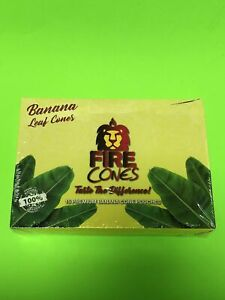 FREE GIFTS🎁Fire🔥Cones High Quality Natural 15 Banana🍌Leaf Pouches