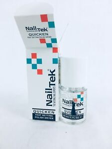 Nail Tek Quicken Fast Dry Top Coat (15ml)