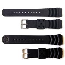 Über Kautschuk Uhrenarmbänder mit Dornschließe