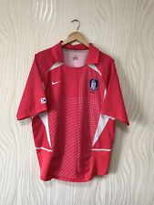 KOREA SOUTH 2002 2004 HOME FOOTBALL SHIRT SOCCER JERSEY NIKE WORLD CUP