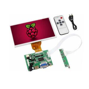 7 inch 800*480 LCD Display Screen Driver Board HDMI VGA 2AV for Raspberry Pi