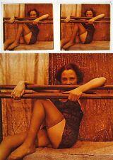 Stereo photo on glass erotic nu feminin 1900 - 1920/676 nude risque