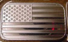 American Flag 1oz Silver Bar