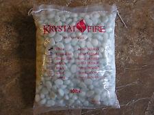 Krystal Fire White Glass Gems 10 Lb. Bag