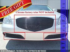 GTG 2010 - 2011 Buick Lucerne 3PC Gloss Black Replacement Billet Grille Kit