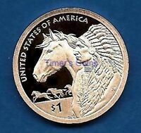 2012 S PROOF Sacagawea - Native American Dollar - Ultra Cameo - IN STOCK