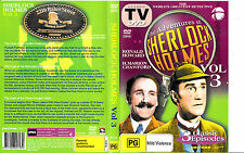 The Adventures of Sherlock Holmes:Vol 3-1950/1955-TV Series USA-3 Episodes-DVD
