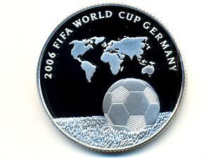 Israel Commemorative Coin:KM-407,2 NIS ,2004 * FIFA World Cup 2006 * Silver * PR