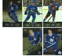 TIM HORTONS Hockey UD BASE CARDS - Pick Select choose your Singles MAKAR HUGHES