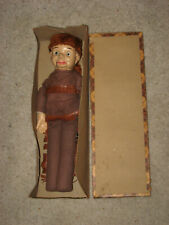 Davy Crockett Original Vintage 1950's Ventriloquist Puppet In Original Box