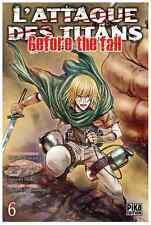 manga L'Attaque des Titans - Before The fall Tome 6 Seinen Hajime Isayama Pika