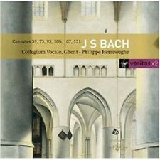 PHILIPPE HERREWEGHE - KANTATEN BWV 39/73/93/105/+ JOHANN SEBASTIAN BACH 2 CD NEW