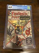 Fantastic Four #17 - Marvel 1963 CGC 6.0 Doctor Doom Appearance.