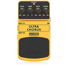 More details for behringer uc200 ultra chorus effects pedal