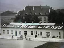 ORIGINAL FOTO VON 1929* FLUGPLATZ FREIBURG IM BREISGAU*LUFTFAHRT*FLUGFELD*RAR