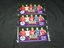 3 UNOPENED TOPPS MATCH ATTAX TRADING CARD GAME 2016/17