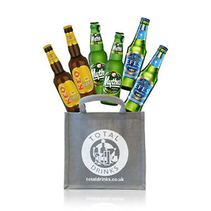 MEDITERRANEAN Beer Gift 12 x 330ml 4 bottles each of Mythos, Efes, Keo