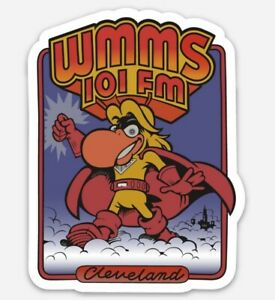 WMMS 101 The Buzzard MAGNET - Cleveland Ohio Rock N Roll Look 100.7 Radio