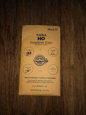 NMRA HO Scale Standards Gage Mark IV