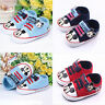 Infant Newborn Sneakers Mickey Mouse Soft Sole Crib Pram Shoes Prewalker Trainer